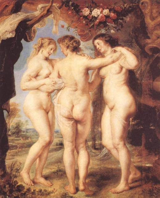 рубенсовские красавиы, целлюлитные женщины, много целлюлита, рубенсовские формы